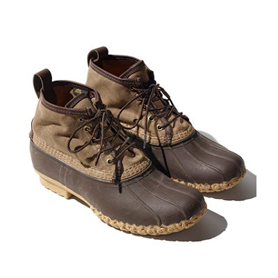 Signature Men's Waxed-Canvas Maine Hunting Shoe, 6""