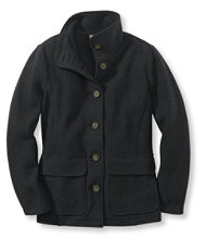Women's Bean's Boiled Wool Jacket