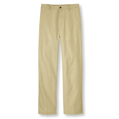 Men's Tropic-Weight Chino Pants, Comfort Waist Plain Front