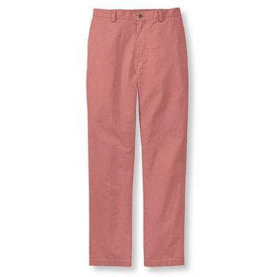 Men's Tropic-Weight Chino Pants, Comfort Waist Plain Front