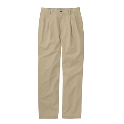 Men's Tropic-Weight Chino Pants, Comfort Waist, Pleated