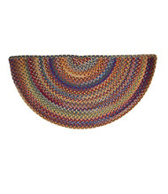 Bean's Braided Wool Rug, Crescent