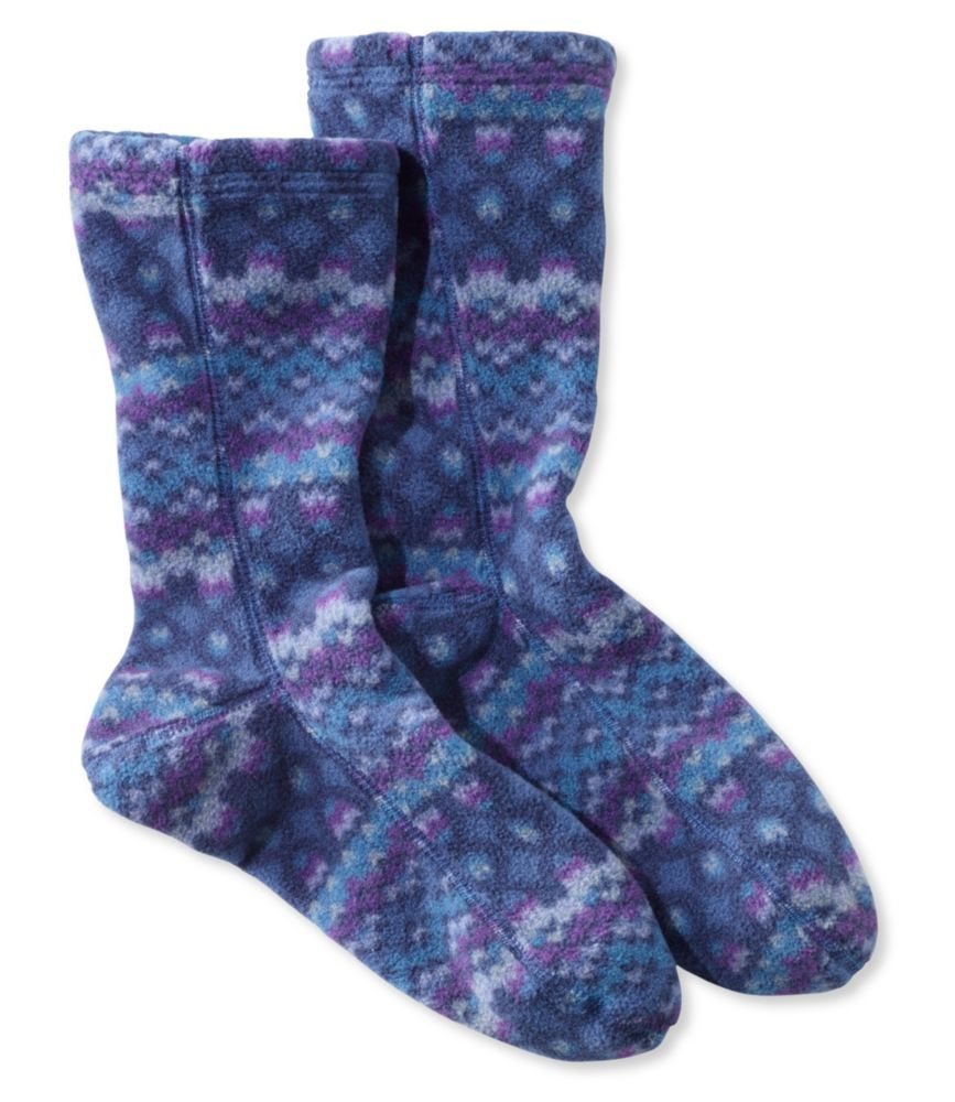 photo: L.L.Bean Fleece Socks