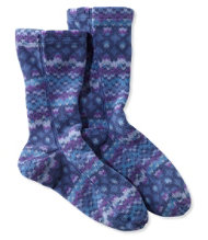 Adults' Bean's Fleece Socks