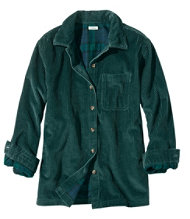 Comfort Corduroy Big Shirt, Lined