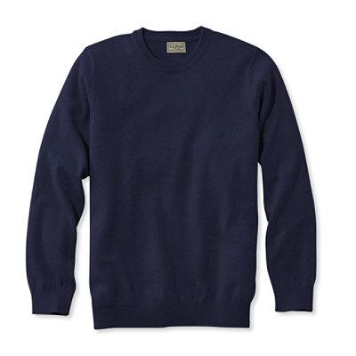 Cotton/Cashmere Sweater, Crewneck