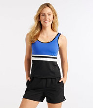 Bean's Swim Jogger,  Scoopneck Top