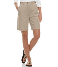 Bayside Twill Shorts, Original Fit Hidden Comfort Waist 9