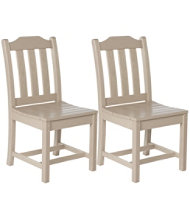 All-Weather� Armless Dining Chair, Set of 2