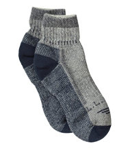 Wool Blend Midweight Cresta Socks Quarter-Crew, 1 Pair