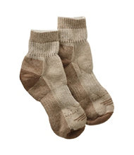 Women's Wool-Blend Cresta Socks, Midweight Quarter-Crew
