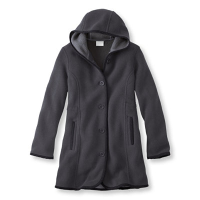 Kingfield Fleece Coat, Hooded