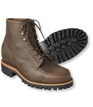 Men's Katahdin Iron Works Boots, Moc-Toe