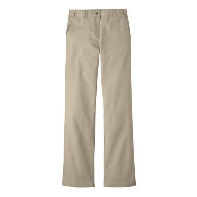 Bayside Twill Pants, Classic Fit Straight-Leg Hidden Comfort Waist