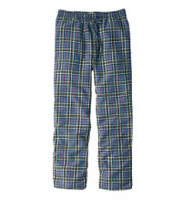 Men's Scotch Plaid Flannel Sleep Pants