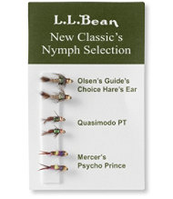 Six-Pack Fly Selection, Classic Nymph