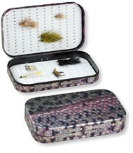 Wheatley Trout Skin Fly Box