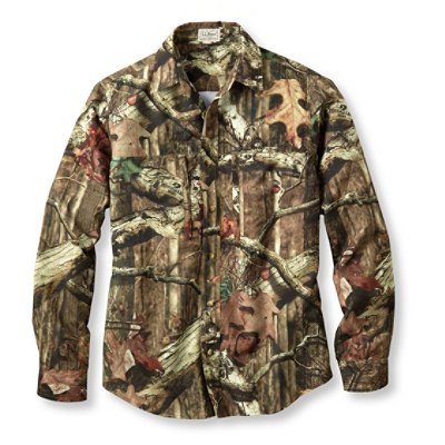 Hunter's Lightweight Camo Shirt