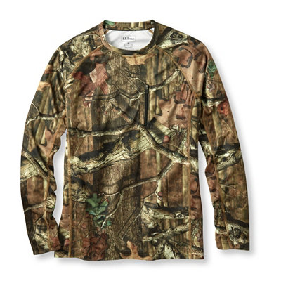 Coolweave Camo Knit Crew