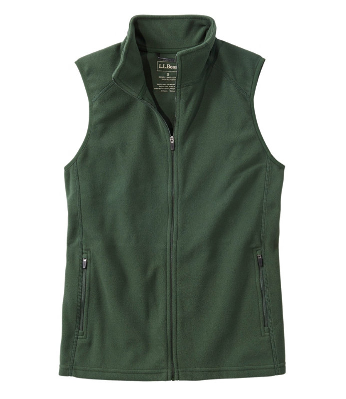 Shop Fitness Fleece Vest with your company logo at L.L.Bean Direct