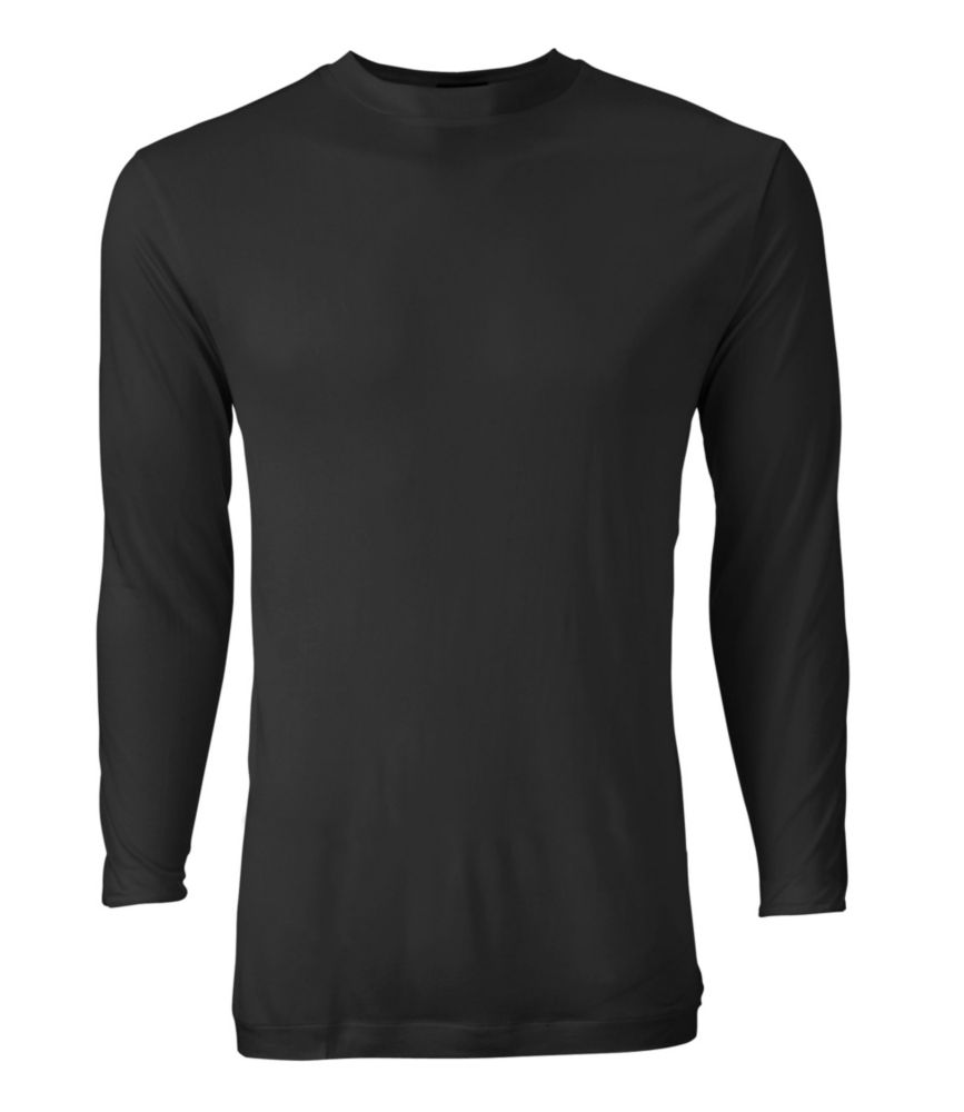 photo: L.L.Bean Silk Underwear, Crewneck base layer top