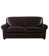 Bean's Leather Lodge Sofa