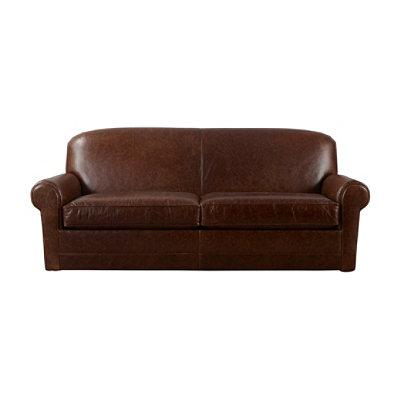 Bean's Leather Lodge Sofa