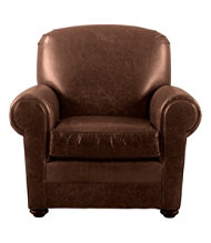 Bean's Leather Lodge Chair