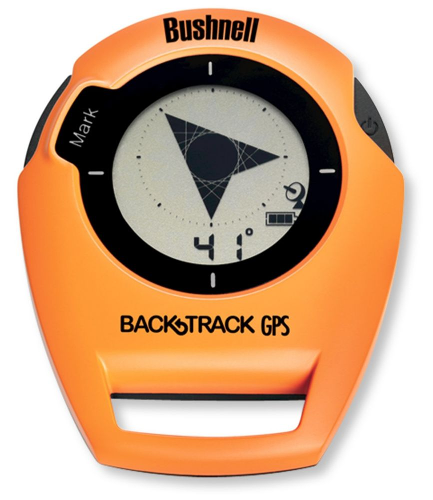 photo: Bushnell BackTrack
