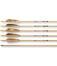 Traditional Hunter Arrows Six Pack