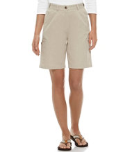 Bayside Twill Cargo Shorts, Original Fit Hidden Comfort Waist 9