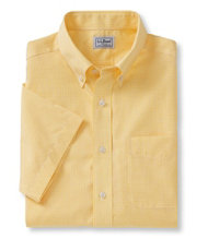 Wrinkle-Resistant Vacationland Sport Shirt, Short-Sleeve Mini Check