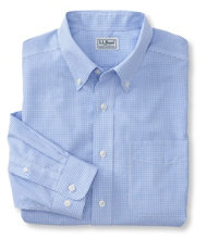 Wrinkle-Resistant Vacationland Sport Shirt, Slightly Fitted Mini-Check