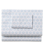 Sunwashed Percale Sheet Set, Print