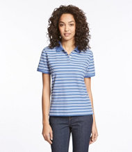 Premium Double L Polo, Relaxed Fit Short-Sleeve Stripe