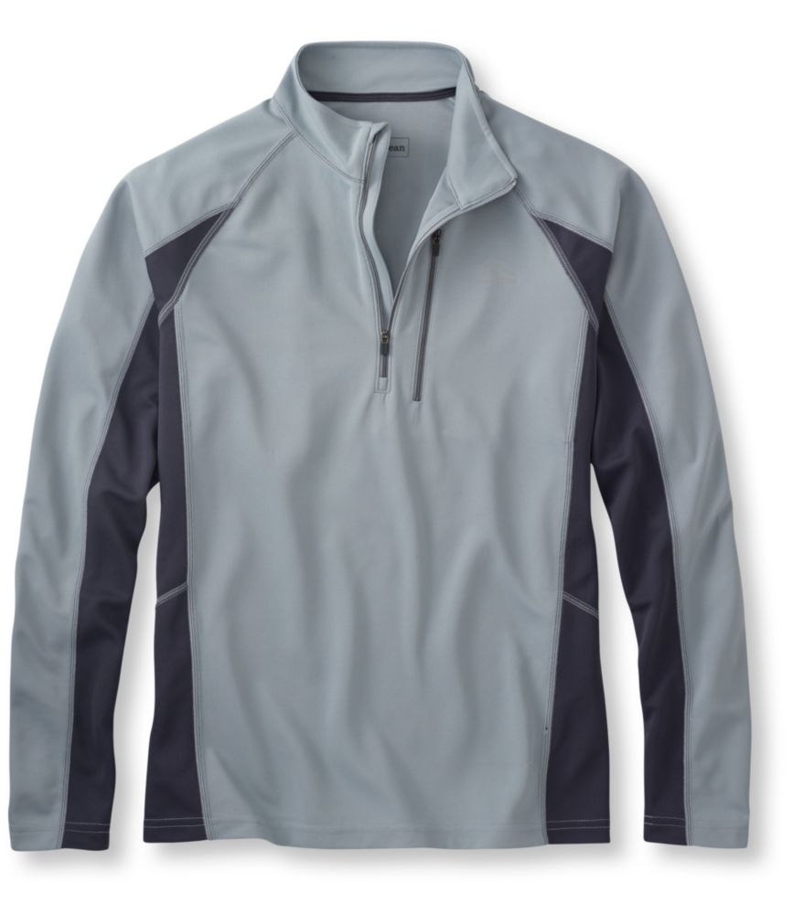 photo: L.L.Bean Ridge Runner Shirt, Long-Sleeve Quarter-Zip