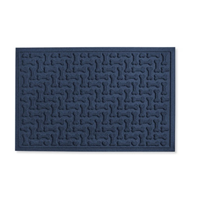 "Herring-Bone Waterhog Mat, 22"" x 34"""