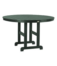 All-Weather Dining Table, Round 48