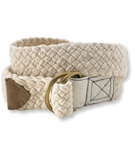 Rope D-Ring Belt