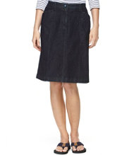 Easy Stretch Skirt, Denim