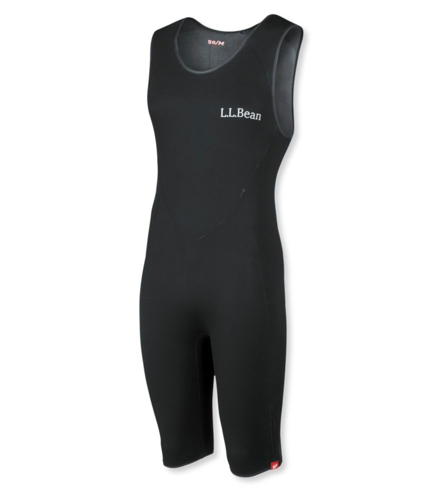 photo: L.L.Bean Men's Superstretch Titanium Sleeveless Shorty Wet Suit