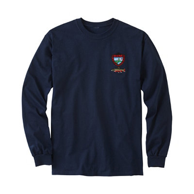 Maine Inland Fisheries and Wildlife Tee, Long-Sleeve Brook Trout