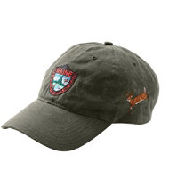 Maine Inland Fisheries and Wildlife Waxcloth Hat, White-Tailed Deer