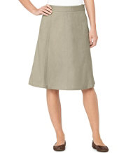Bean's Gored Skirt , Twill