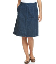Bean's Gored Skirt, Denim