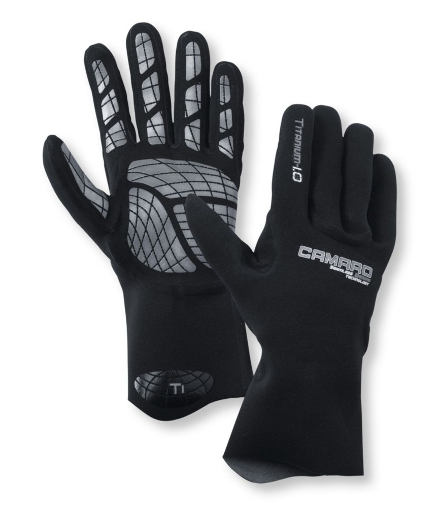Camaro Superstretch Titanium Seamless Gloves