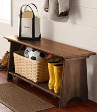 Rustic Wooden Mudroom , Large
