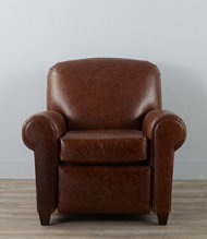 Bean's Leather Lodge Recliner