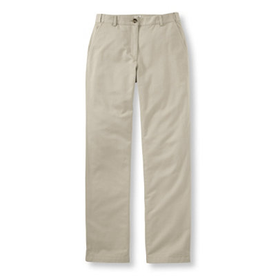 Bayside Twill Pants, Classic Fit Straight-Leg Comfort Waist Lined