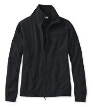 Classic Cashmere, Full-Zip Cardigan